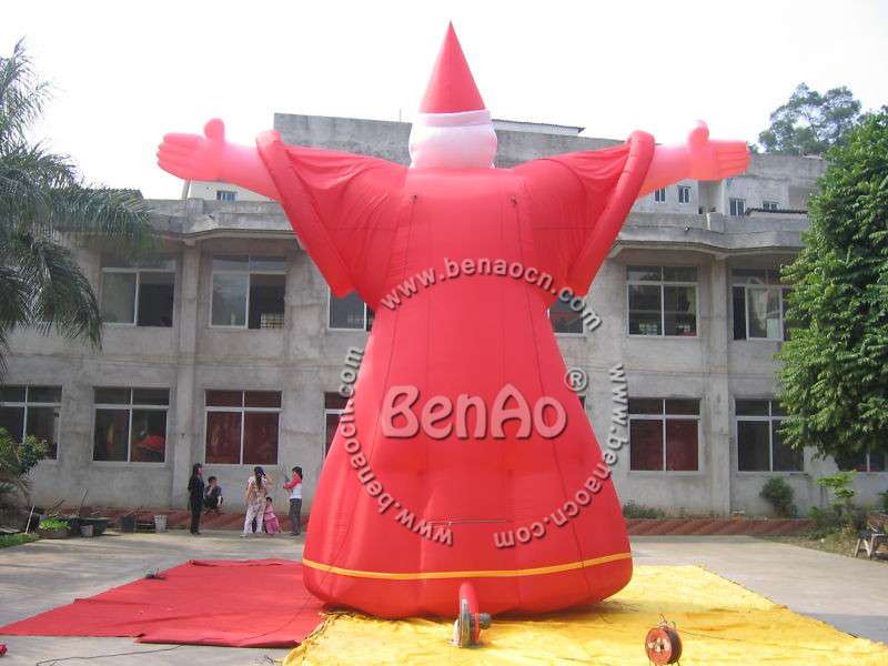 Blower For Inflatable Decorations : Dc inflatable wizard advertising promotion w fan ft