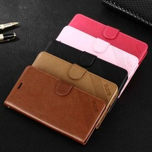 , Vintage Wallet Stand Leather case Huawei Honor 5C 5X 7 7i Luxury Flip Phone Bag Card Slots Holder - saly li's store