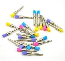 Hot Sale 100pcs New Color Nylon latch flat Polishing Polisher Prophy Brushes Dental Brush For Sale(China (Mainland))