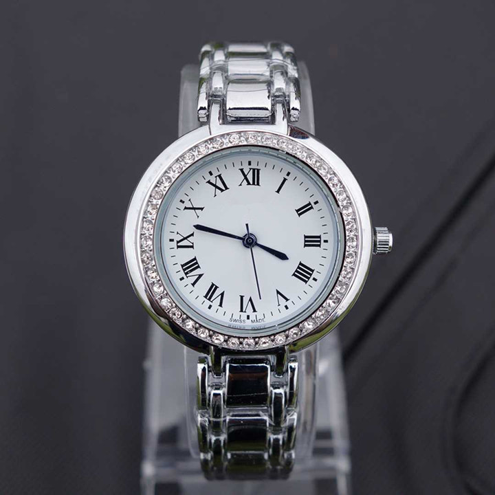 Brand Women Watches Vintage Silver Watches High Quality Quartz Rhinestone Watches Fashion Relogio Feminino<br><br>Aliexpress