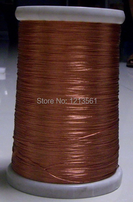 0.1x15 strands, 300m, Litz wire, stranded enamelled copper wire / braided multi-strand wire(China (Mainland))