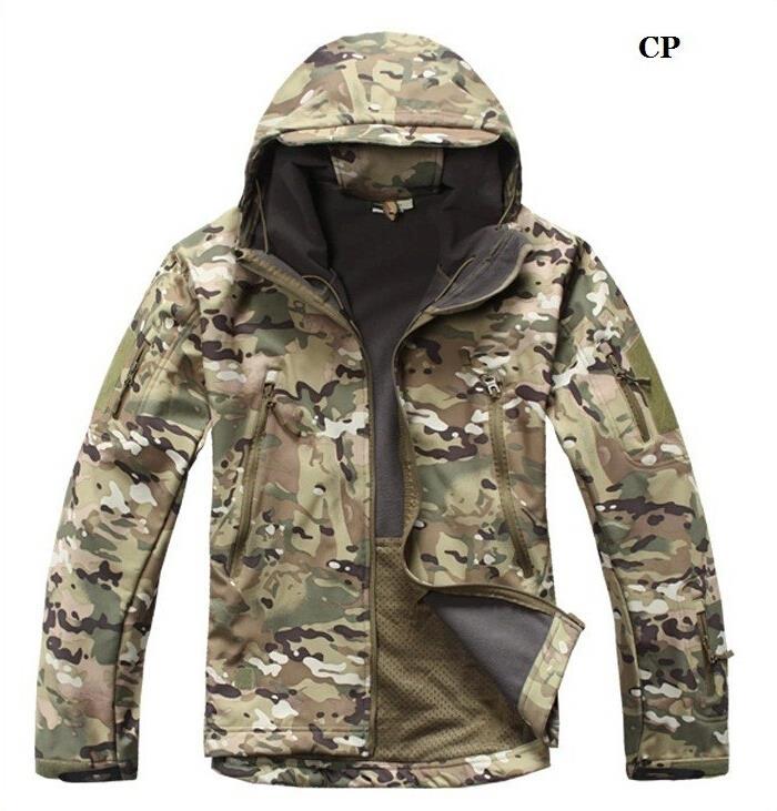 2016 jacket men High quality Lurker Shark skin Soft Shell TAD V 4.0 Outdoor Military Jacket Waterproof windbreaker coat(China (Mainland))
