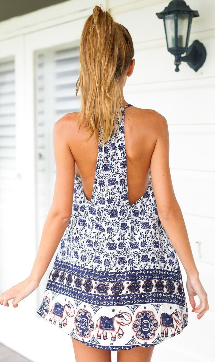 Backless Summer Dresses
