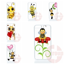 3d cartoon bees style Huawei P6 P7 P8 mini Honor 3C 4C 6 7 Mate 8 P9 Plus Lite G6 G7 G8 4X 5X Mobile Phone - Sells Top Cases Store store