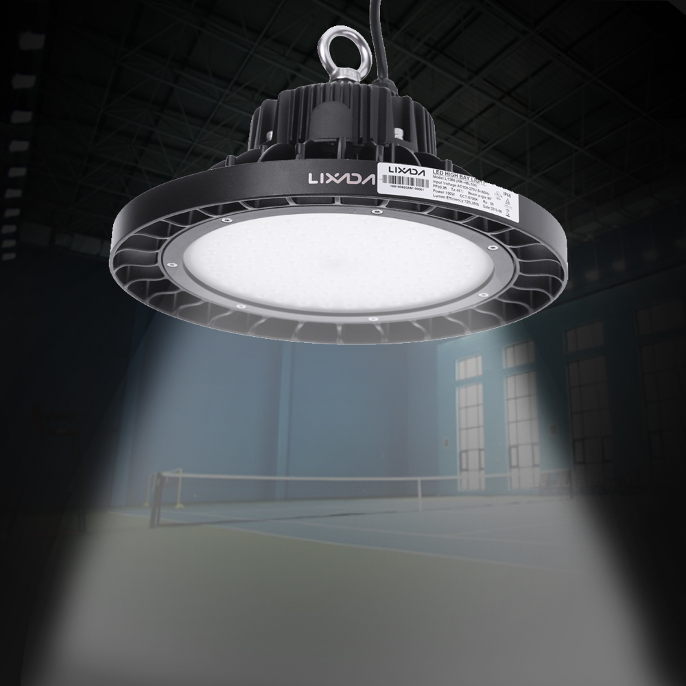 Hot LIXADA 160W 19200-20800LM IP66 Water Resistant LED High Bay Lamp Industrial Light for Factory Workshop Warehouse Mine Market(China (Mainland))