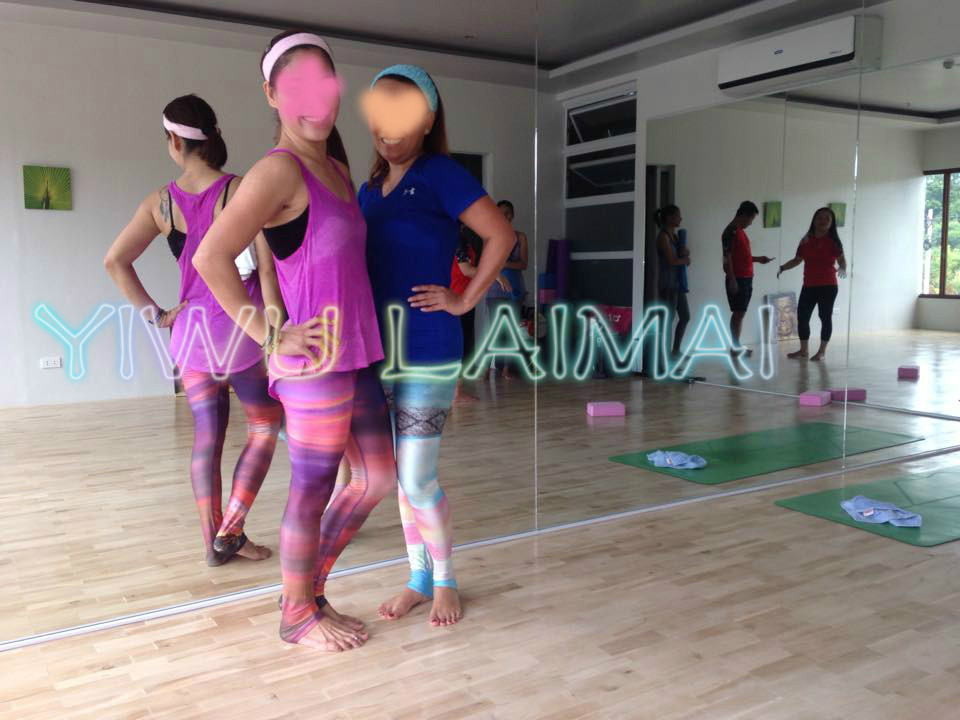 YIWU LAIMAI summer style Blue Aztec Red Sunrise Cloud teacher Yoga Pants ACTIVEWEAR printed jumpsuit tregging jeggings leggings(China (Mainland))