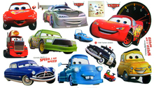 TC1088 Free Shipping Cars Wall Stickers Kid Favorite Cartoon Figure Window Cling Mixable Children Room Daycare Decal(China (Mainland))
