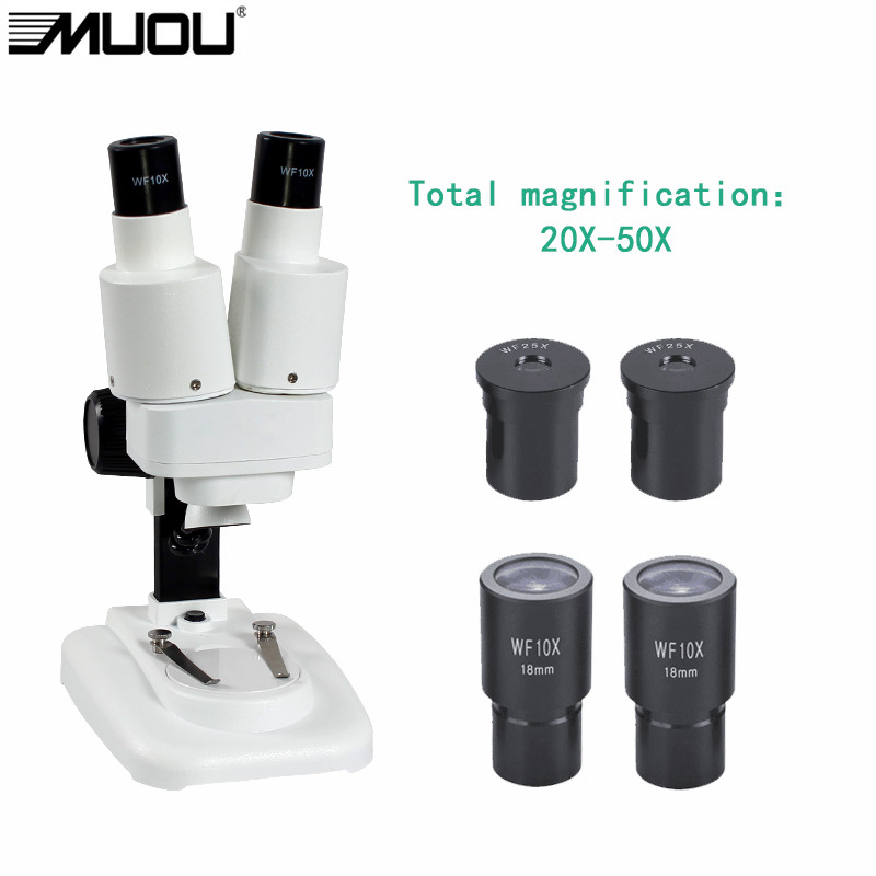 20-50X USB Binocular Stereo Microscope LED Light PCB Solder Mineral Specimen Watch Students Kids Science Education Phone Repair(China (Mainland))