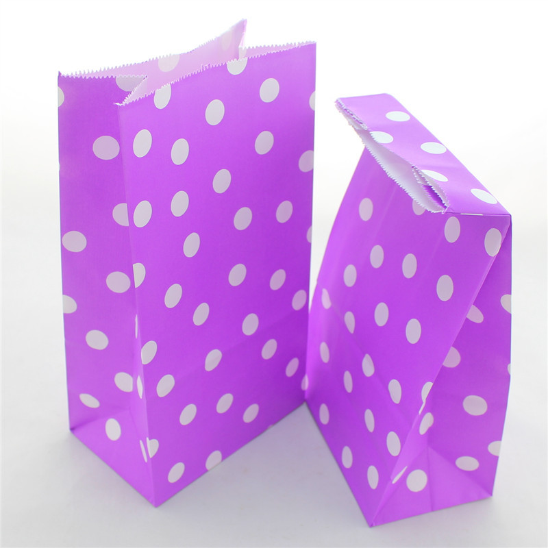 12 Color 1500 pcs/lot Kraft Gift/Candy/Dessert Paper Bags Birch Stand-up Paper Bags For Valentine Day/ Party Free Shipping(China (Mainland))
