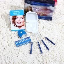 Sbiancamento dei denti professionale kit gel set portatile di assistenza sanitaria igiene orale dental care attrezzature uso domestico sistema di sbiancamento dei denti(China (Mainland))