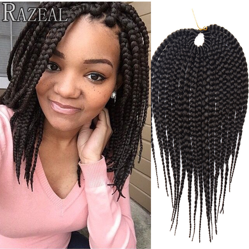 Crochet Box Braids Short : short crochet braid hair senegalese twist from China short crochet ...