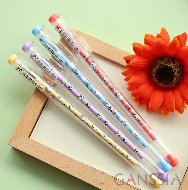 Cute panda deisgn Gel pens animal pen candy color stationery zakka material escolar school supplies(ss-a943)<br><br>Aliexpress