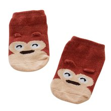 Top Selling for Baby Kids Small Infant Socks Little Ears Cotton Socks Cartoon Socks 8 Colors(China (Mainland))