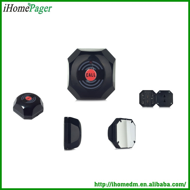 wireless calling system call button
