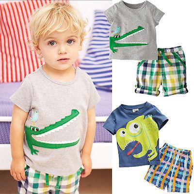 CONCURS CROITORIE - TINUTA PENTRU COPII -font-b-Kid-b-font-font-b-Crocodile-b-font-Bird-Dinosaur-Cotton-Suit-Outfit