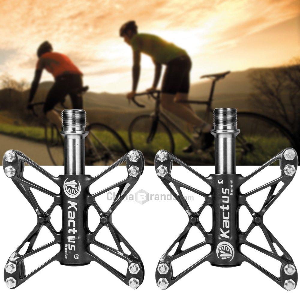 160g/Pair Kactus KTPD 13T Bike MTB BMX Flat 3 Bearings Bicycle Pedal Magnesium CNC Titanium Axle Footrest - 2PCS(China (Mainland))