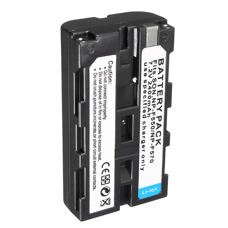 NP-F550 2400mah NP F550 NP-F570 NP F570 Rechargeable Li-ion Camera Battery For Sony NP-F330 F750 CCD-SC CCD-TR(China (Mainland))