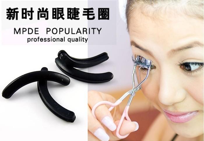 2015 Free Shipping New Hot Sale Eyelashes 6pcs Eyelash Curler Replacement Pads Eyelashes Circle Random Delivery MK0262(China (Mainland))
