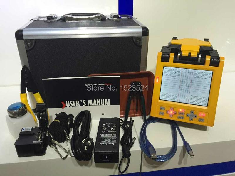 Spedizione gratuita automatico ftth fibra ottica splicing macchina fibra ottica giuntatrice di fusione(China (Mainland))