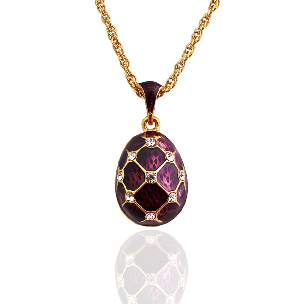 high quality enamel handmade brass faberge egg