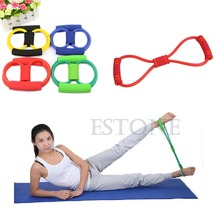 Resistance Training Bands Rope Tube Workout Exercise for Yoga 8 Type Fashion Body Fitness 1NKF WF32