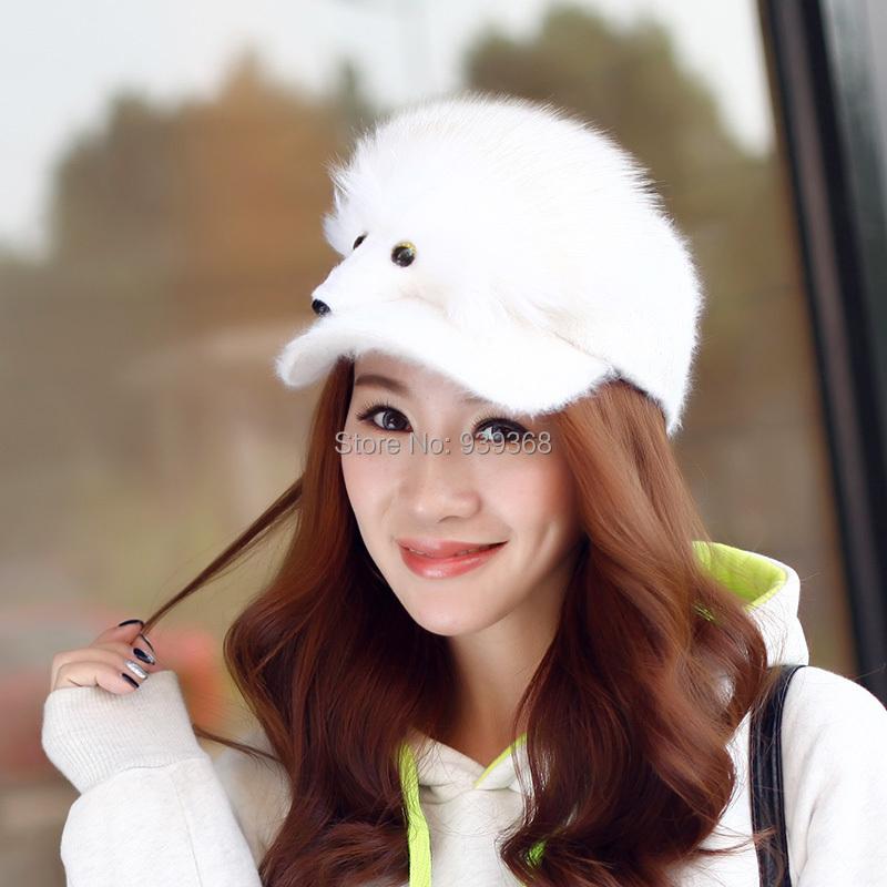 Novelty baseball caps fox face baseball caps(China (Mainland))