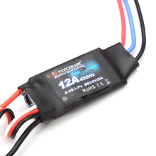 6Pcs Flycolor 12A ESC speed controller FPV Quadcopter Brushless Motor RC Drone Low shipping
