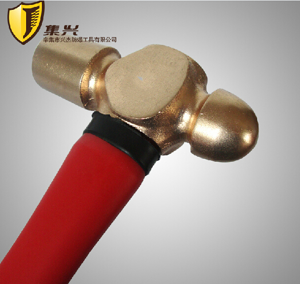 Non sparking Hammers,1.36KG/3P Ball pein Hammer,Non magnetic Hand Tools(China (Mainland))
