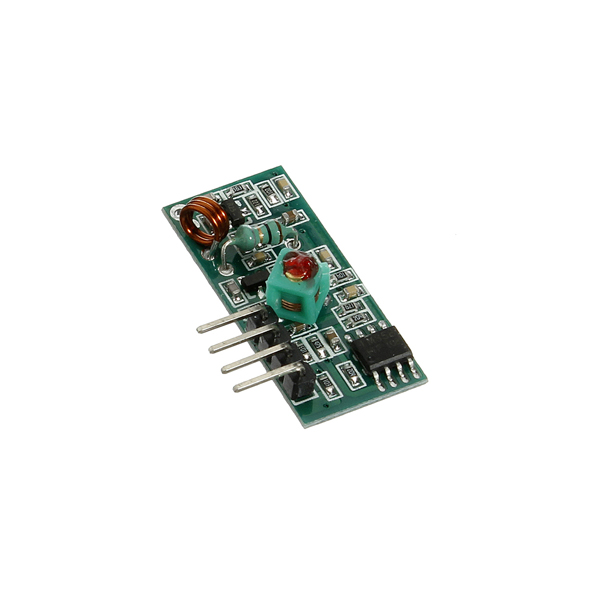 ASK 315 433 MHZ RF Wireless Transmitter And Receiver Module(China (Mainland))