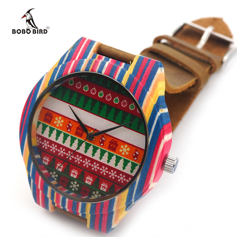 Elegant Classic Colorful Men's Watch Wood Craft Design Leather Band Men Fashion Casual Watches Relogios(China (Mainland))