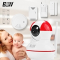 BW Wifi IP Camera 720P HD Surveillance Security CCTV System Pan 120 Tilt 355 Baby Monitor