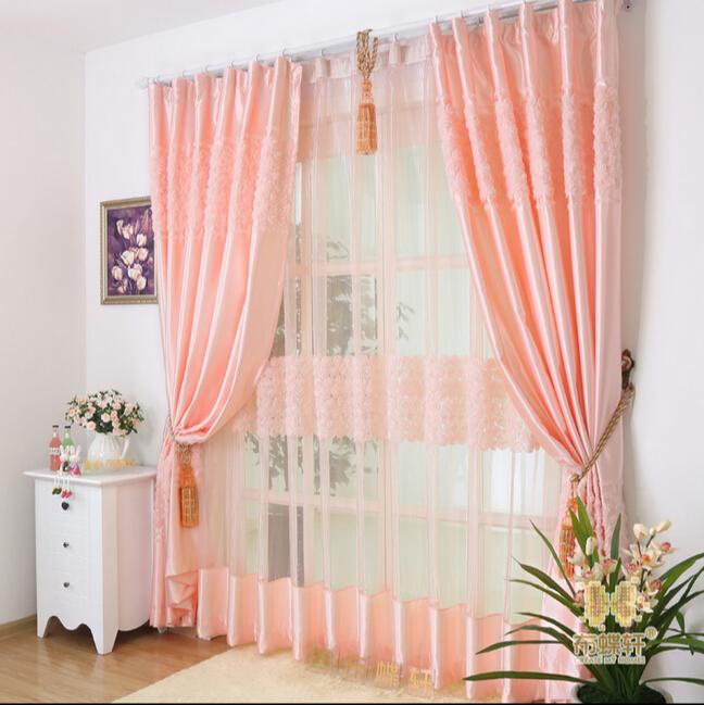 Online kopen wholesale geborduurde zijden gordijnen uit for Telas para cortinas dormitorio matrimonio