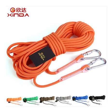 Escalada 10M Professional Rock Climbing Cord Outdoor Hiking Accessories Rope 9.5mm Diameter 12KN High Strength Cord Safety Rope(China (Mainland))