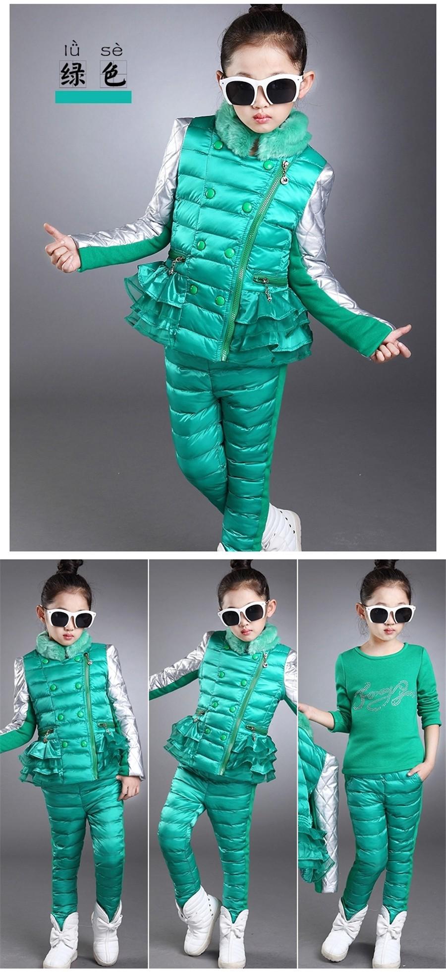 Girls Clothing Sets, Fashion Princess Winter Suit, Black, Pink Kids Clothes, Multi Color Conjunto Menina Roupas Infantil Meninas