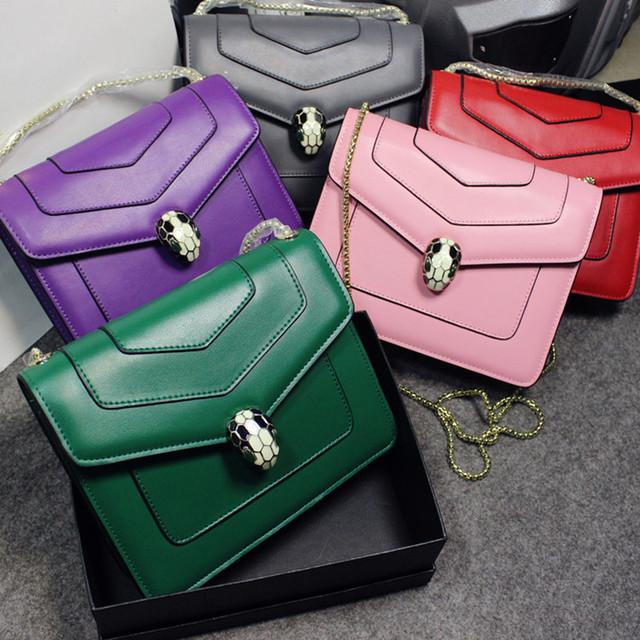 2016 new star сумки кожаная сумка плеча диагональ цепь контрабандистов сумка