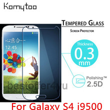 Buy Premium 0.3mm 2.5D 9H Explosion Proof Toughened Tempered Glass Samsung Galaxy S4 i9500 LCD Film Screen Protector Cover Guard for $1.09 in AliExpress store