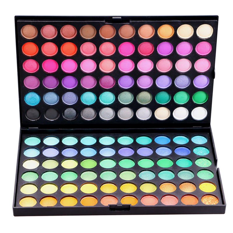 120 Color Eyeshadow Professional Make Up Waterproof Matte Pearlescent Naked Makeup Palette(China (Mainland))