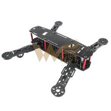 QAV250 cross racing drone QAV-X 250 Engineering plastic material frame quadcopter W UAV 250 FPV DIY Arm Cross Racing Quadcopter