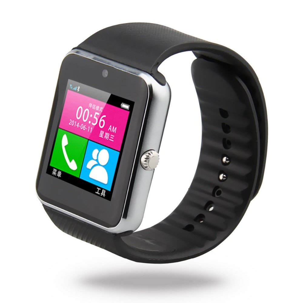 1.5'' 2.0 MP GT08 Touch Screen NFC Wirst Phone watch Mate Pedometer watch for 3G GPS Camera WiFi Mobile Phone for iphone HTC(China (Mainland))