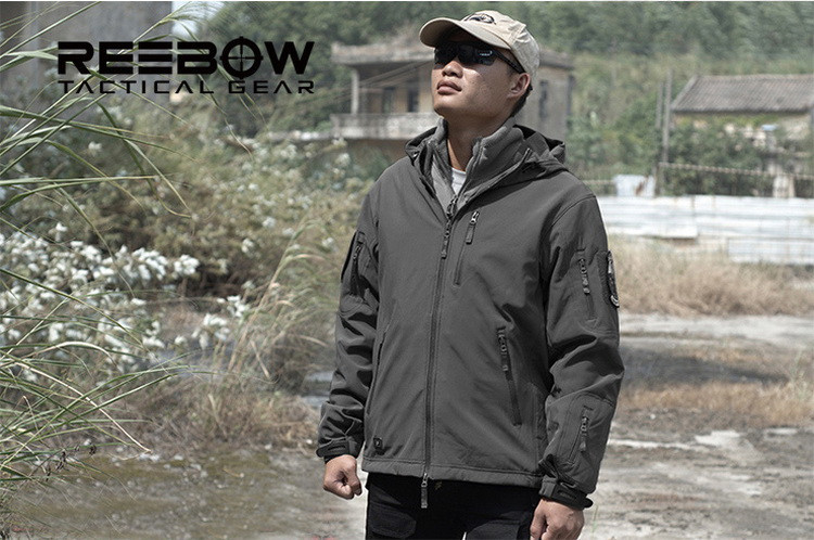 NEW TD V4.8 Men's Army Tactical Jacket Men Outdoor Soft Shell Jacket Winter Sport Breathable Waterproof Windproof Military coats