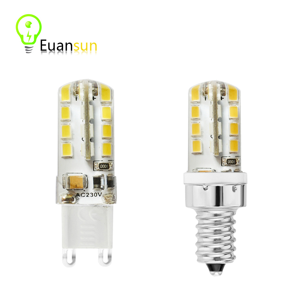 1Pcs ce&rohs SMD 2835 G9 E14 LED Lamp 5W AC 220V Ultra Bright 2835 SMD Chandelier bulb Replace 20-40W halogen light(China (Mainland))