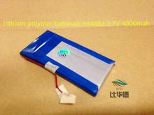 Lithium polymer batteries 944883 3.7V 4000mah(China (Mainland))