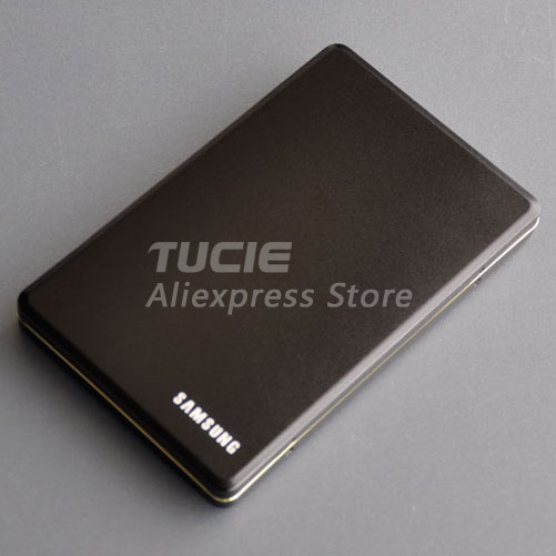 2.5 inch SATA USB2.0 Slim HDD box external enclosure Good price Aluminum hdd case retail and wholesale Support 1TB Drive(China (Mainland))