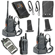 2x BAOFENG BF-888S UHF 400-470MHz 5W 16CH Ham Two-way Radio Walkie/Talkie  LB0534(China (Mainland))