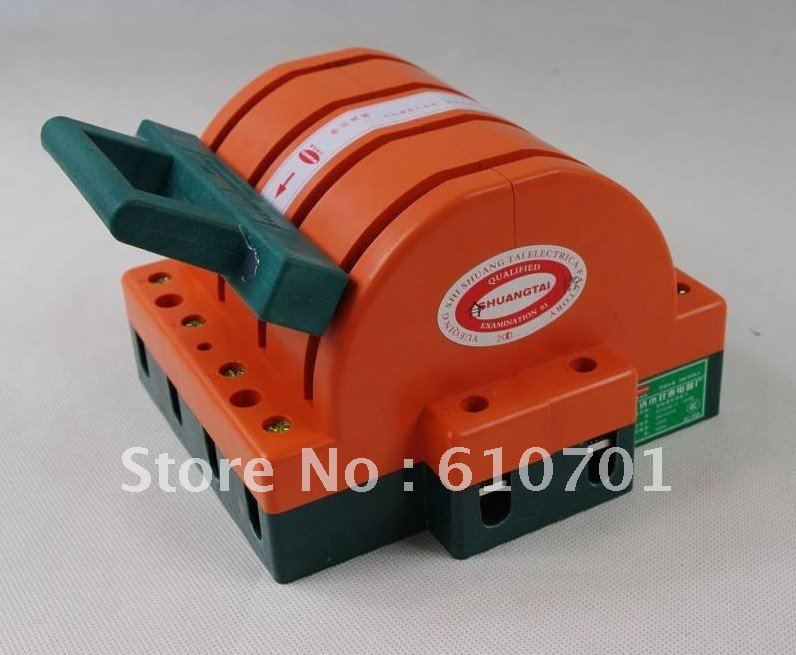 Heavy Duty 4Poles Double Throw 4PDT 100A Safety Knife Blade Disconnect Switches(China (Mainland))