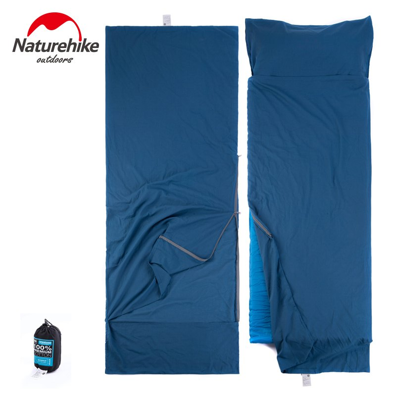 Naturehike-Portable-Ultra-light-Cotton-Widened-Outdoor-Liner-Sleeping-Bag-travelling-camping (4)