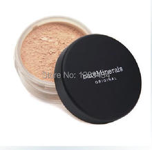1PCS/LOT New Loose Powder Bare Minerals Original SPF15 Foundation 4 colors 8g +FreeShipping(China (Mainland))