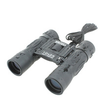 2014 impermeable ordinario 10 x 25 telescopio Binocular 302FT / 1000 YDS foco ajustable 10 Times corta