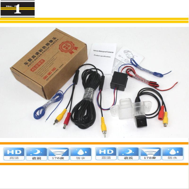 HD CCD Night Vision / Car Rear View Camera / HD Back Up Reverse Camera / For SSangYong Kyron / Korando + Power Relay(China (Mainland))