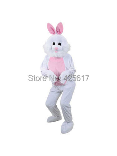 Hot selling! funny Adult Big Head Easter Bunny Cartoon Fancy Dress Suit Outfit Animal Mascot Costume - Sam's World store